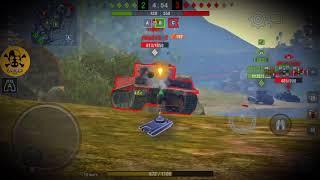 WotBlitz.T34-85(RUDY)☆Рыжая кинозвезда!( сериал 4 танкиста и собака.)