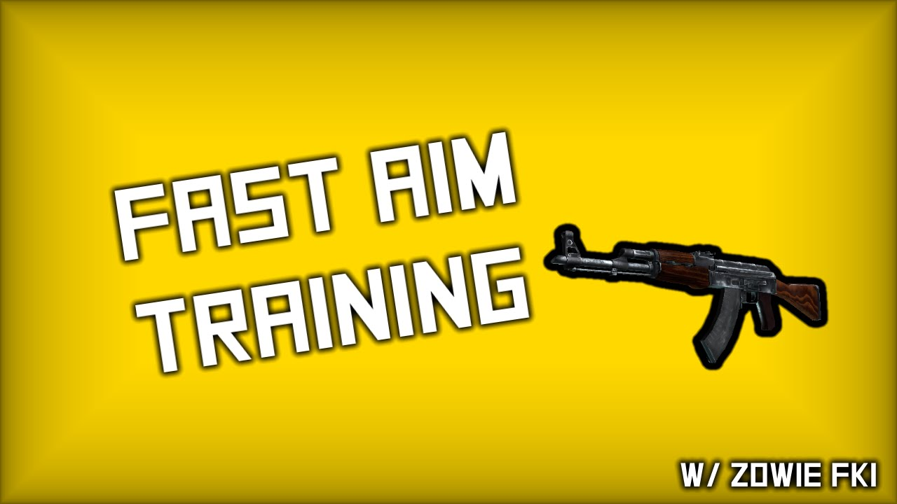 CSGO - Fast Aim Training (1280x960 Black Bars)