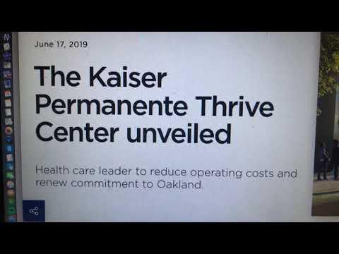 The Kaiser Permanente Thrive Center For Uptown Oakland