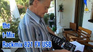 Werner packt aus! the t-Mix Rackmix 821 FX USB Unboxing