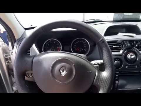 Renault Megane 2 1.6  ЗАМЕНА МОТОРА ВЕНТИЛЯТОРА ПЕЧКИ,