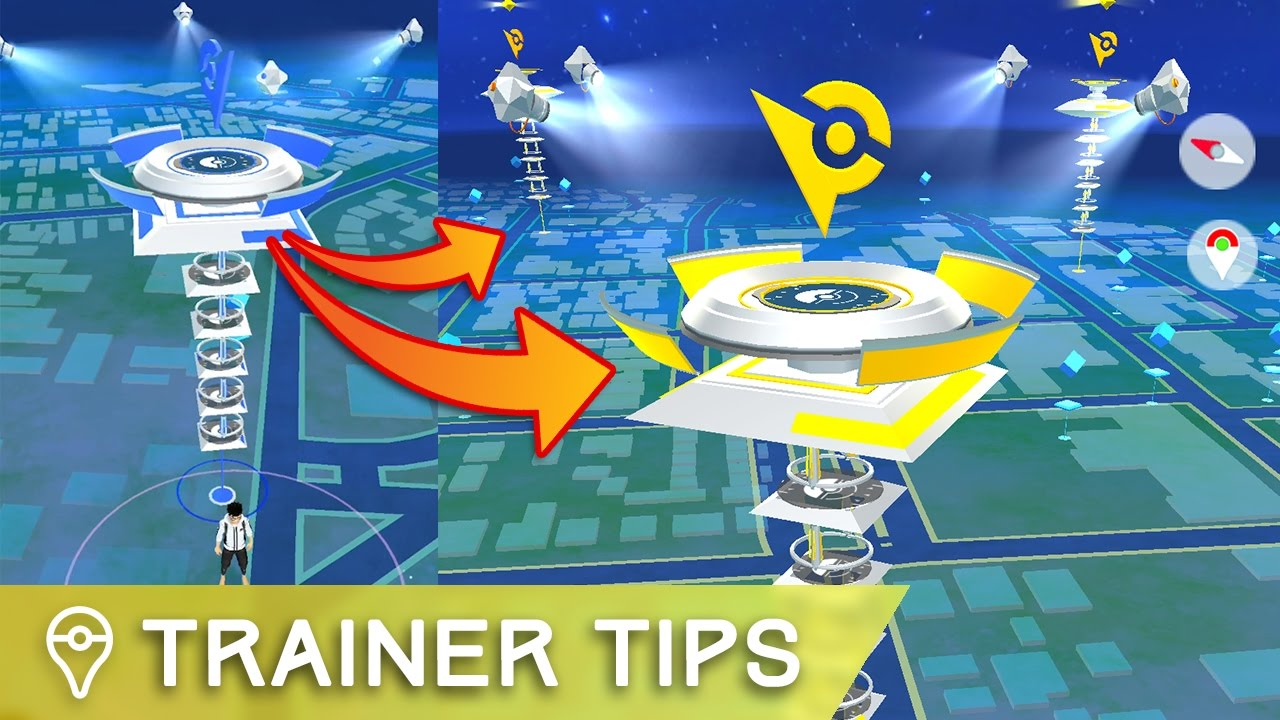 0034bb34 FASTEST WAY TO TAKE OVER LEVEL 10 GYMS IN POKÉMON GO - YouTube