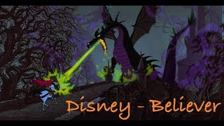 Disney - Believer - Imagine Dragons AMV Video