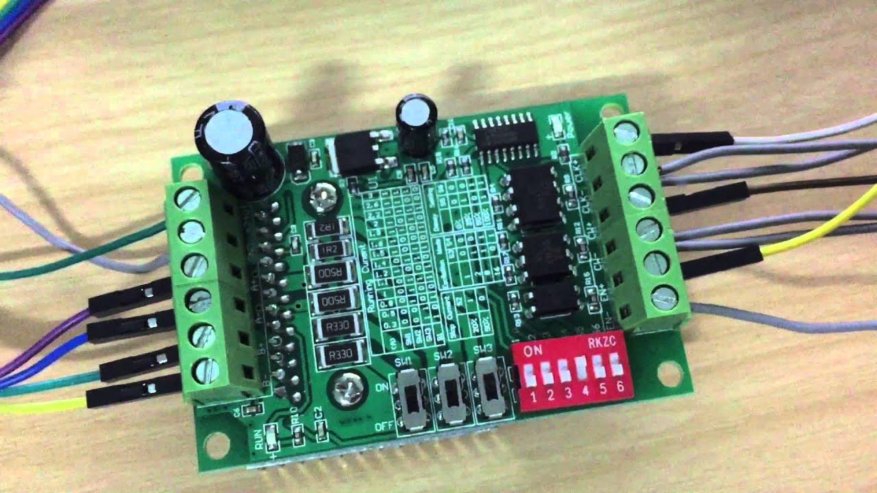 วิธีการใช้ Drive Step Motor Tb6560 ด้วย Arduino Youtube