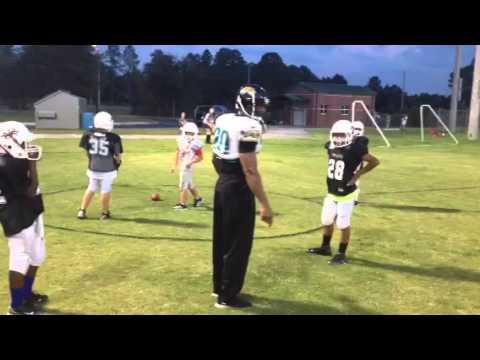 Donovin Darius Next Level Football Practice