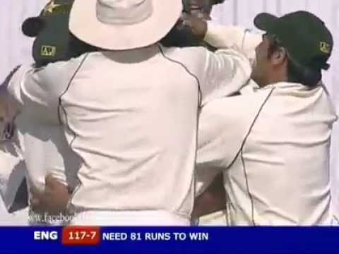 Shoaib Akhtar yorker against Ashley Giles