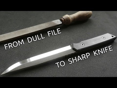 Making a Knife from an Old File