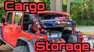 Installing a Vector Offroad GGB Cargo Rack In My Jeep