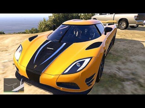 GTA V - Koenigsegg Agera R - YouTube