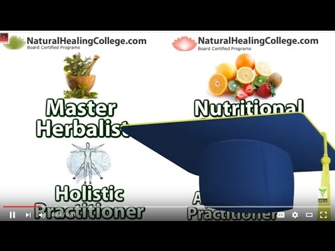 Herbalist Herbal Training Online NaturalHealingCollege.com Live Stream Promo Video: Herbal Training