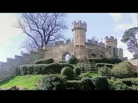 """Warwick Castle"". A Medieval Fortress, Owned and run by ""Madame Tussauds"" Warwickshire, England"