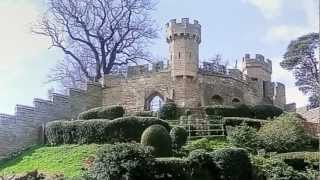 """""""Warwick Castle"""". A Medieval Fortress, Owned and run by """"Madame Tussauds"""" Warwickshire, England"""