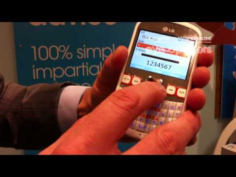 LG Town demo from The Carphone Warehouse
