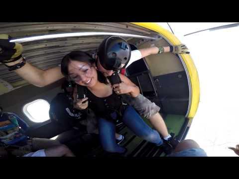 Betsy Franco  Tandem Skydiving At Skydive Elsinore
