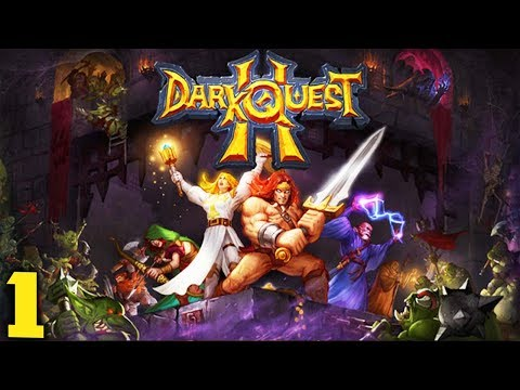 RIP ARCHER! - Let's Play Dark Quest 2 Gameplay Part 1 (Turn Based RPG inspired by Hero Quest)