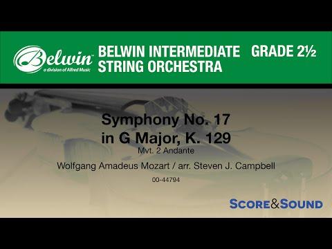 Symphony No. 17 in G Major arr. Steven J. Campbell - Score & Sound