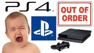 Playstation 4: Broke After 19 Days but Sony's 1 Year Warranty is Worry Free :)