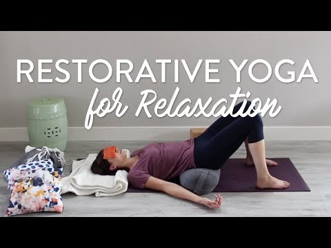 Restorative Yoga Sequence for Relaxation