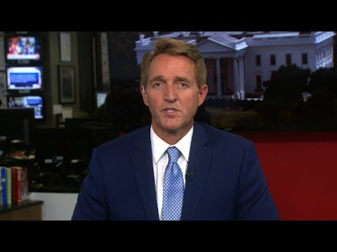 Jeff Flake: I'll oppose Trump when 'he's w...