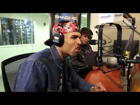 Chris Brown Tells Sway What He Does When he Has Writers Block