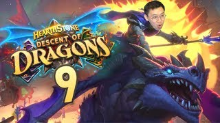 Descent of Dragons Review #9 KELESETH AGAIN?! | Hearthstone