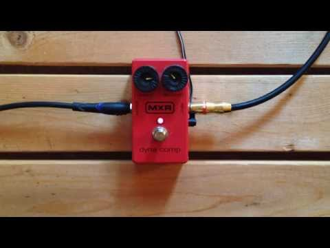 5 Minutes With The MXR Dyna Comp - Pedal Demo