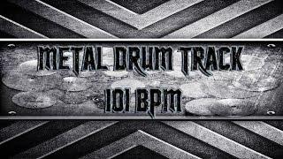 groovy metal drum track 101 bpm hqhd