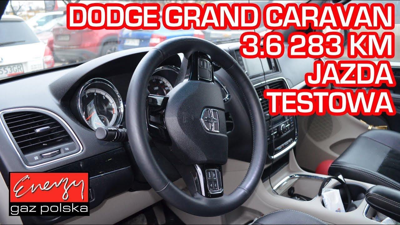 Jazda próbna testowa: Test LPG Dodge Grand Caravan 3.6 283KM 2014r w Energy Gaz Polska na auto gaz