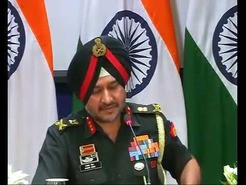 Press Conference by DGMO Lt. Gen Ranbir Singh on surgical strikes in Pok Mp3