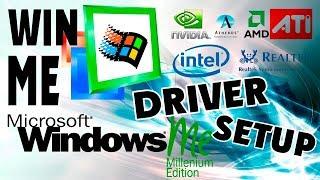 Как установить драйвера на Windows Millennium