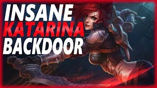 INSANE KATARINA BACKDOOR | URF SHENANIGANS