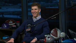 Giants QB Eli Manning on The Dan Patrick Show | Full Interview | 2/2/18