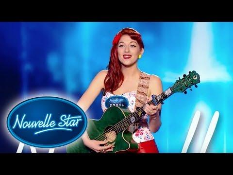 Amandine: Angela - Auditions – NOUVELLE STAR 2016