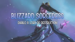 Blizzard Sorceress Progression - Chaos Sanctuary • Diablo 2: Lord of Destruction 1.14d