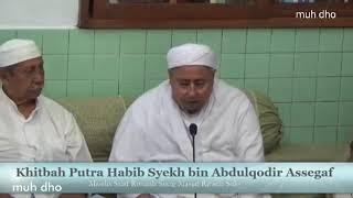 Khitbah Putra Habib Syekh bin Abdul Qodir Assegaff dg Putri Habib Ja'far bin Ali Assegaff