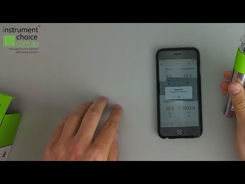 How to setup your IC-BL-400 Portable Bluetooth Weather Station