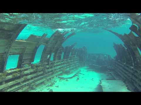 Drug Plane Dive, Normans Cay, Bahamas