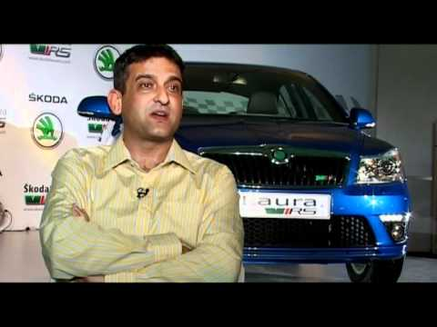 The SKODA Laura RS Launch