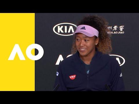 Naomi Osaka press conference (F)   Australian Open 2019