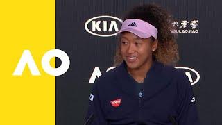 Naomi Osaka press conference (F) | Australian Open 2019