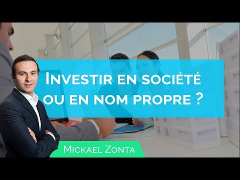 Investir En SCI Ou En NOM PROPRE ? Le Bon Choix !