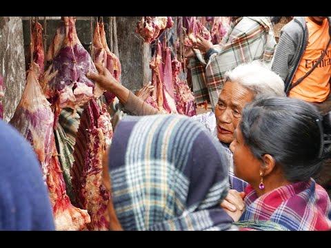 Laitlyngkot Market - Best Meat Market in Khasi Hills Meghalaya