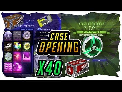 x40 FÉROCITÉ CASE OPENING ! DOUBLE DROP + ÉDITIONS SPÉCIALES - ROCKET LEAGUE FR thumbnail