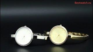 Обзор кварцевых часов DKNY NY2598, NY2599