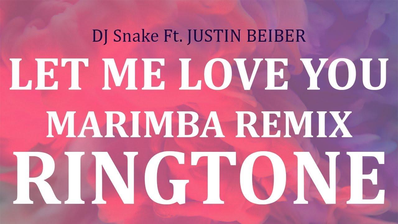 let me love you dj snake ringtone download