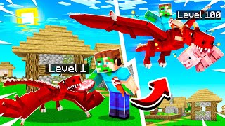 OVERPOWERED Pet DRAGONS in Minecraft!