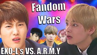 The Chaotic Fandom Wars of EXO and BTS - The Fandom Files