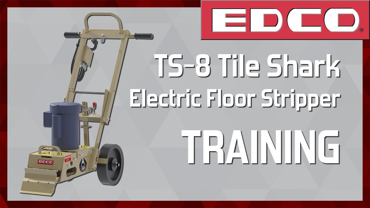 how to use an 8 tile shark floor stripper ts 8 edco