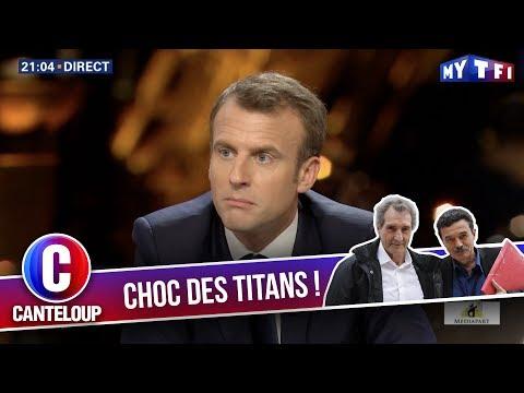 """Imitation d'Emmanuel Macron - """"On peut arrêter Radio Bistro ?"""" - C'est Canteloup"""