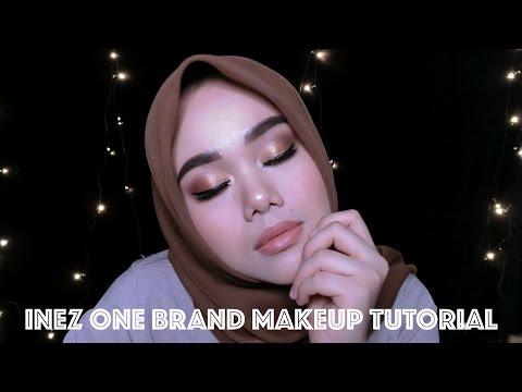 Inez Local Drugstore One Brand Makeup Tutorial | MakeupbyFatya